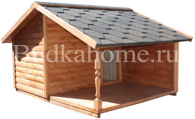 Budkahome - собачий дом с отоплением от производителя