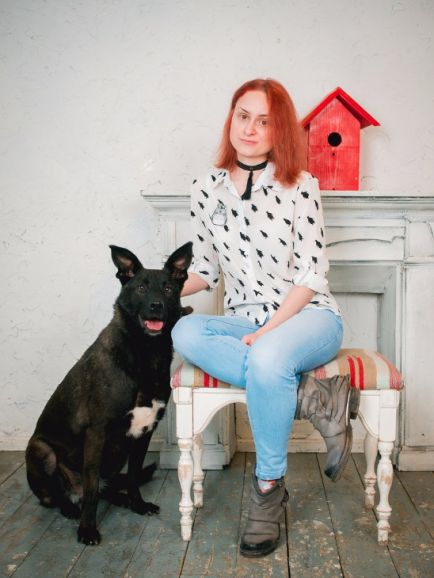 Красивая собака Майя ищет дом